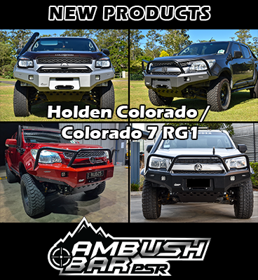 Holden Colorado / Colorado 7 RG1 Ambush Bar