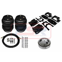 Dodge Ram 1500 (Standard Height) (Coil Spring Rear) 2009-2018 Polyair Bellows Ultimate Airbag Kit