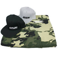 PSR Camo Hoodie and Cap Pack