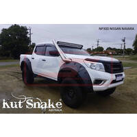 Nissan Navara NP300 Kut Snake Flares - Monster 110mm - Front Only