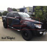 Ford Ranger PX 2012-2018 Kut Snake Flares - Slimline 58mm - Full Set