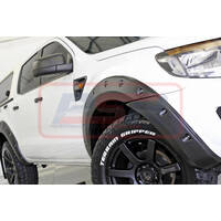 Ford Ranger PX1 2012-2015 Kut Snake Flares - Extra Slim 44mm - Front Only