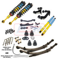 "Toyota Hilux N70 Bilstein 4"" Lift Kit LONG TRAVEL - DELUXE"