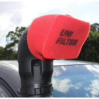 Uni Filter Large Pre-Oiled Snorkel Ram Head Cover - 3 Pack