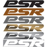 PSR 90mm Sticker