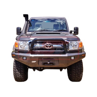 Toyota Landcruiser 70 Series Ambush Single Hoop Bullbar (Big Tube)