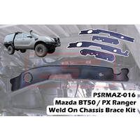 Mazda BT50 / PX Ranger Weld On Chassis Brace Kit (4 Plates)(Dual Cab)