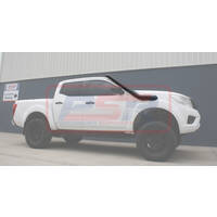 "Nissan Navara NP300 4"" Stainless Snorkel and Airbox (Powdercoated Finish)"