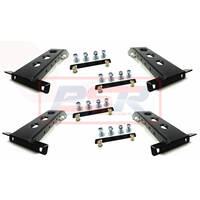 1/2 Height Baja Rack Leg Set of 4 (Wide Leg)